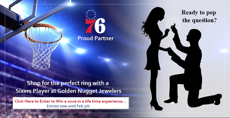 ​Golden Nugget Jewelers Announce Once-In-A-Lifetime Contest for Philly Sports Fans